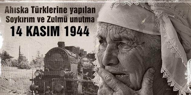 Ahıska Türkleri Kültür ve Dayanışma Derneği, sürgünde yaşamını yitirenlere rahmet diledi