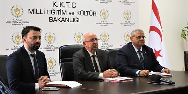 Milli Eğitim ve kültür Bakanlığı ile DAÜ arasında protokol imzalandı