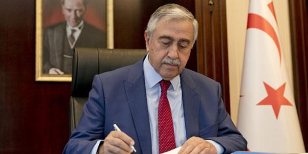 Cumhurbaşkanı Akıncı'nın Anastasiadis'e önerisi 9 maddeden oluşuyor