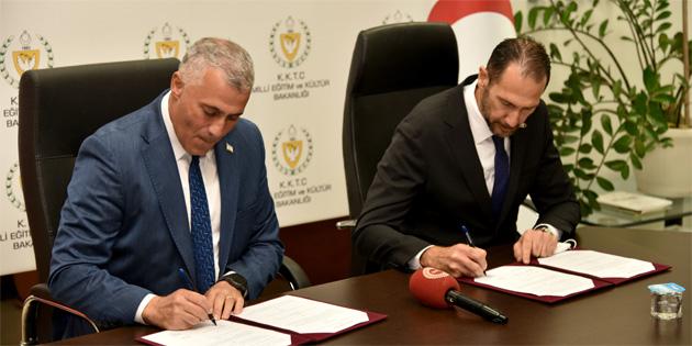 Milli Eğitim ve Kültür Bakanlığı ile Asbank LTD. arasında iş birliği protokolü imzalandı