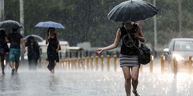 Yağışlı havanın sürmesi bekleniyor