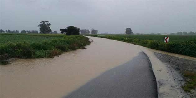 Aslanköy-Paşaköy yolu kapatıldı