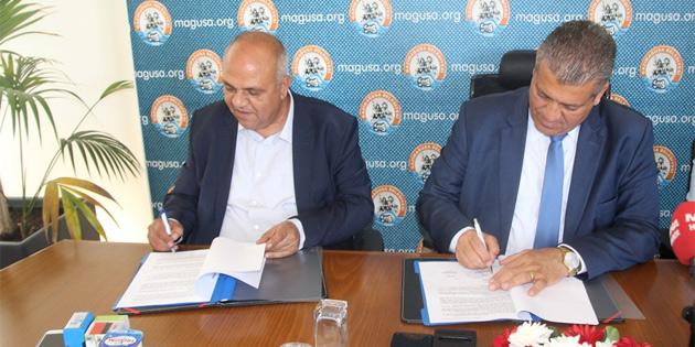 Maraş bölgesinde asfalt yenileme ve kaldırım projesinin ihale sözleşmesi imzalandı