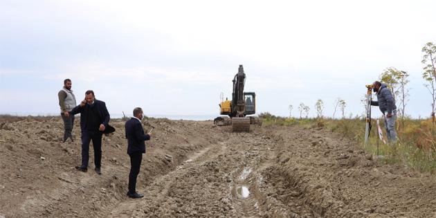 Îskele Belediyesi, Kalecik Halk Plaji ve Yeşil Alan Rekreasyon Projesini başlatıyor