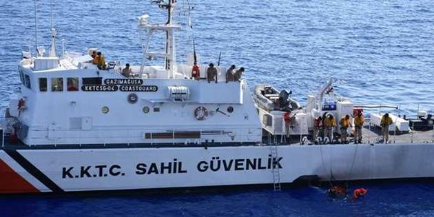 Sahil Güvenlik Komutanlığı KKTC'den kanunsuz çıkış yapan 6 Bangladeşliyi teknede tespit etti