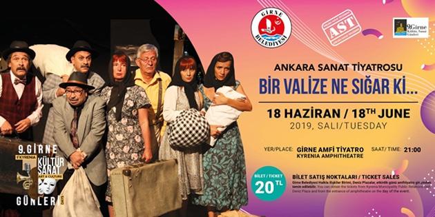 9. Girne Kültür Sanat Günleri 18 Haziran'da başlıyor
