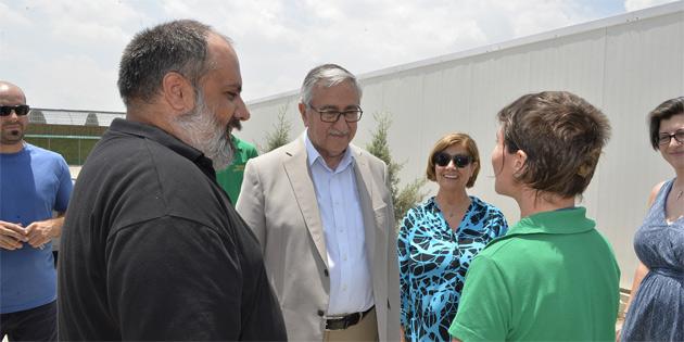 Akıncı, Taşkent Doğa Parkı ve Yaban Hayat Rehabilitasyon Merkezi'ni ziyaret etti