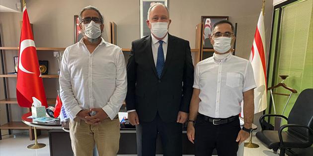 YÖDAK Başkanı Prof.Dr. Avcı, DAÜ-SEN yetkililerini kabul etti