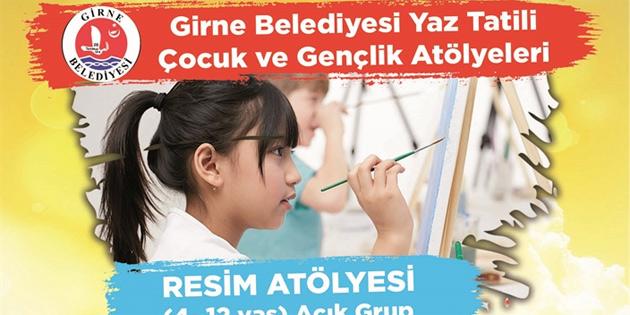 Girne Belediyesi Resim Atölyesi ve Çocuk Yogası başlıyor