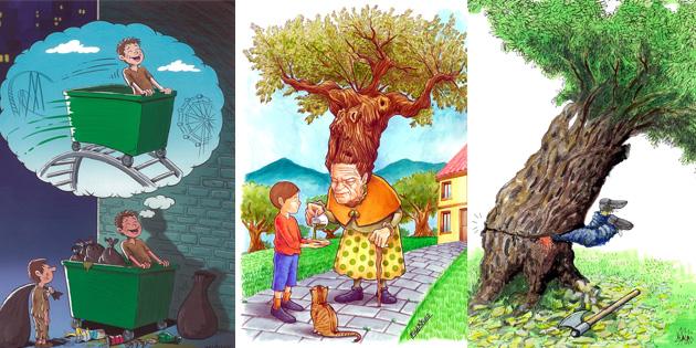 Uluslararası karikatür yarışmasının sonuçları belli oldu