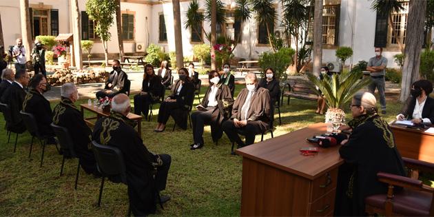 Terfi eden ve atanan yargıçlar yemin ederek göreve başladı