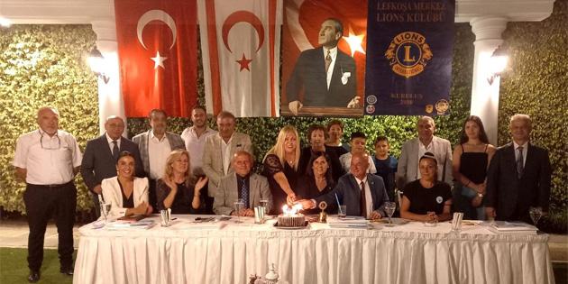 Başbakanlık Uyuşturucu ile Mücadele Komisyonu Lefkoşa Merkez Lions Kulübü üyelerine seminer verdi