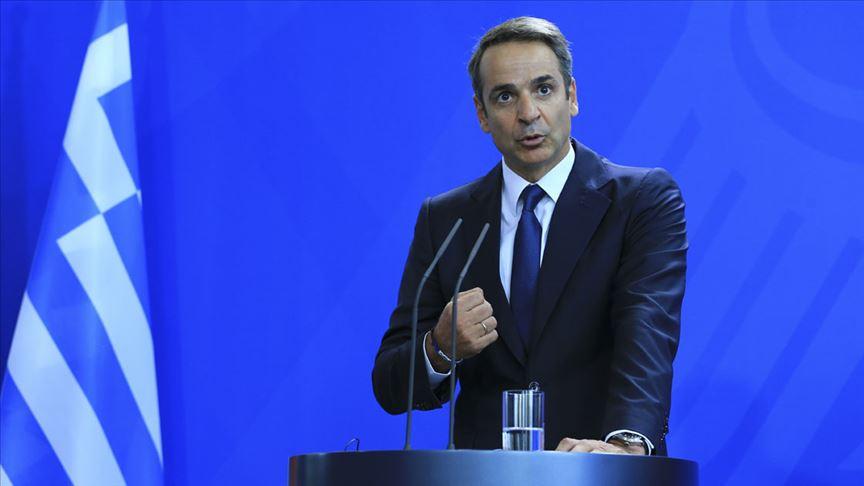 """Miçotakis: """"Kıbrıs sorununun çözümü için tek çerçeve BM Güvenlik Konseyi kararlarıdır"""""""