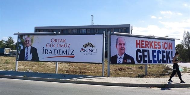 Tatar da Akıncı da saat 11.00'de oy kullanacak