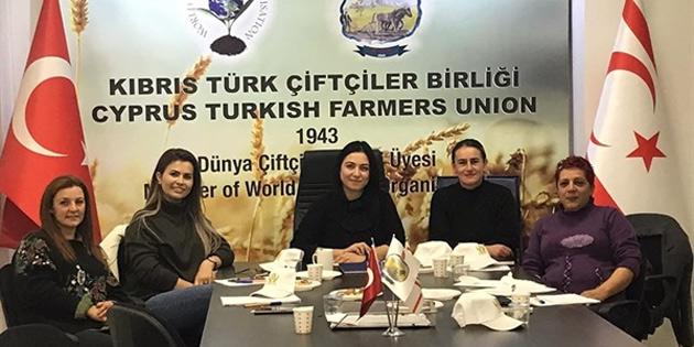 Kıbrıs Türk Çiftler Birliği Kadın Komitesi çalışmalarını hızlandırdı