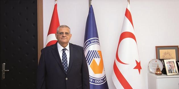 DAÜ Rektörü Osam DAÜ'ye yakışır bir seçim sürecinin VYK tarafından resmi olarak başlatılması durumunda sürecin önünü açmak için istifa edeceğini açıkladı