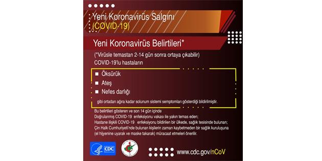 Tabipler Birliği, koronavirüs'le ilgili uyarılar içeren yeni bir afiş hazırladı