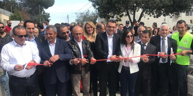 Başbakan Erhürman, 14. Tepebaşı Lale Festivali'nin açılışını yaptı