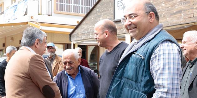 Cumhurbaşkanı Akıncı, Gazimağusa Namık Kemal Meydanı ve Mutluyaka köyünde halkla bir araya geldi