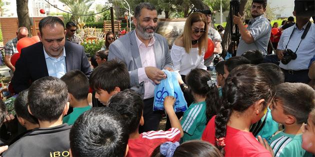 """Lefkoşa Kumsal Park'ta """"Çocuk Festivali"""" düzenlendi"""