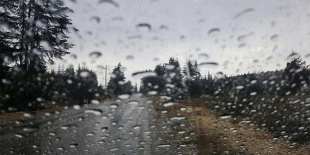 Yer yer yağmur bekleniyor