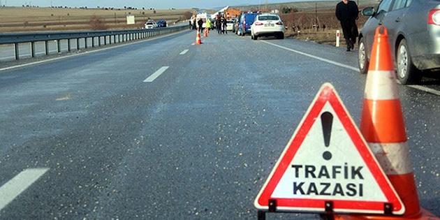 1 haftada 62 trafik kazası meydana geldi