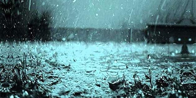 Tatlısu'da metrekareye 31 kg yağış kaydedildi