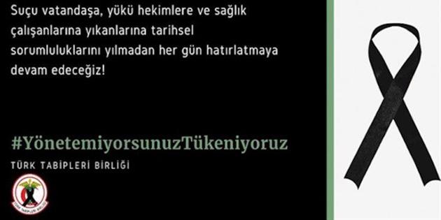 K.T. Tabipleri Birliği, Türk Tabipleri Birliği'ne dayanışma bildirdi