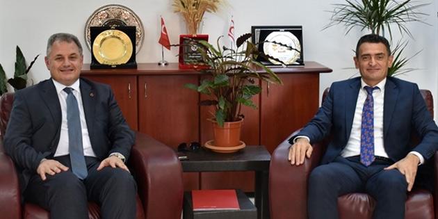 Tarım ve Doğal Kaynaklar Bakanlığı ile UKÜ arasındaki iş birliği