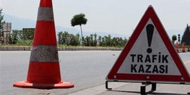 Gazimağusa'da trafik kazası, biri ağır 4 yaralı
