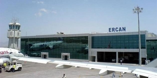 Bayındırlık ve Ulaştırma Bakanlığı tarafından Ercan Havaalanı pistine bakım-onarım işlemi uygulandı