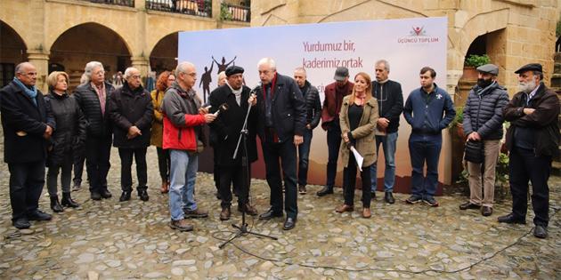Dernek Kıbrıs'ın federal çatı altında yeniden birleşmesi için çalışacak