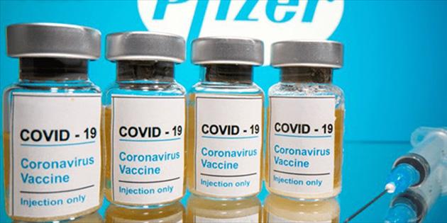 "AB'den ""Pfizer"" aşısı geldi"