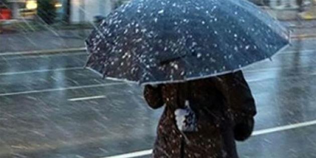 Yarın ve Çarşamba günü yüksek kesimlerde karla karışık yağmur bekleniyor