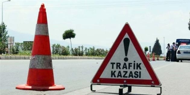 59 trafik kazasında 21 kişi yaralandı