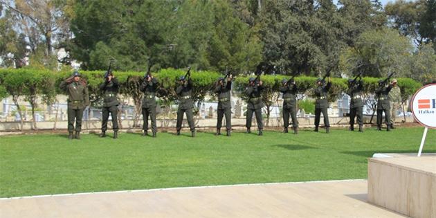 18 Mart Çanakkale şehitleri Gazimağusa'da düzenlenen törenle anıldı