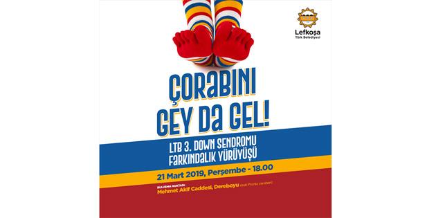"""LTB Gençlik Meclisi engelsiz gençlik masası """"Çorabını gey da gel"""" adlı yürüyüş gerçekleştirecek"""
