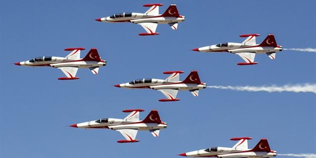 Türk Yıldızları'nın KKTC'ye gelişi nedeniyle düzenleme