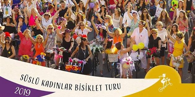 Süslü Kadınlar Bisiklet Turu Pazar günü yapılacak