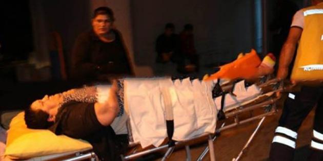 65 yaşındaki Semray Özalan'ın ayak bileği kırıldı