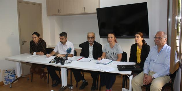 """Ara bölgede """"Adada madenciliğin durdurulması"""" talebiyle iki toplumlu protesto eylemi düzenlenecek"""
