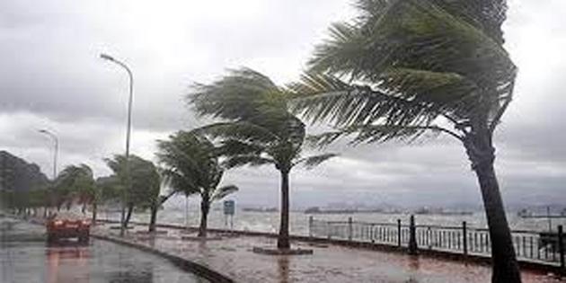 Rüzgar bazı bölgelerde 100 Kilometre'yi aştı