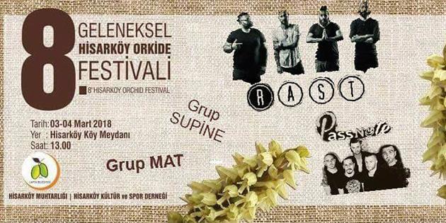 Hisarköy Orkide Festivali 3 Mart'ta başlayacak