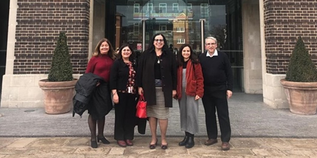 KKTC Londra Büyükelçisi Tuncalı, Middlesex Üniversitesi Kıbrıslı Türk öğretim üyelerini ziyaret etti