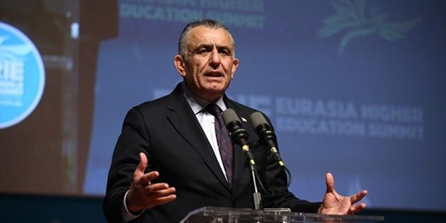 Eğitim Bakanı Çavuşoğlu, 5. Avrasya Yükseköğretim Zirvesinde konuşma yaptı