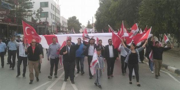 KKTC Umut Derneği'nden Afrin harekatı'na destek