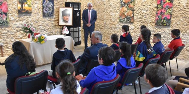 Girne bölgesi okullarından öğrenciler Güngördü'yü ziyaret etti