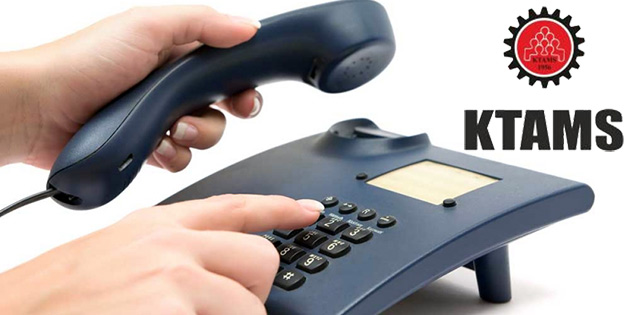 KTAMS yarın telefon dairesi 192 servisinde uyarı grevi yapacak