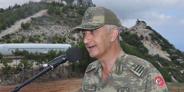 Şehit Teğmen Caner Gönyeli 2018 arama kurtarma tatbikatı kara safhası yapıldı