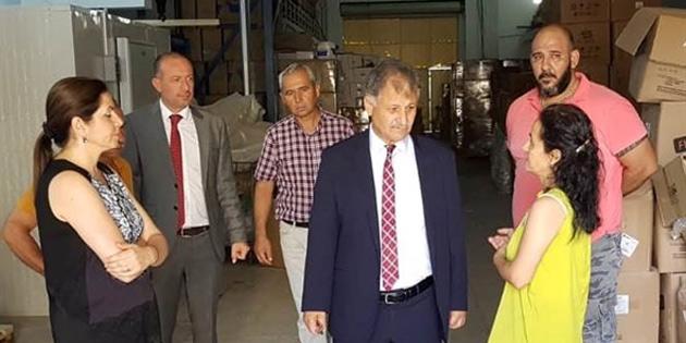 Sağlık Bakanı Ali Pilli, İlaç ve Eczacılık Dairesini ziyaret etti